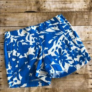 NWT J. Crew  Floral Chino City Fit Shorts 2
